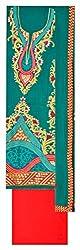 Sree Hamsa Women's Georgette Unstitched Dress Material (Green)