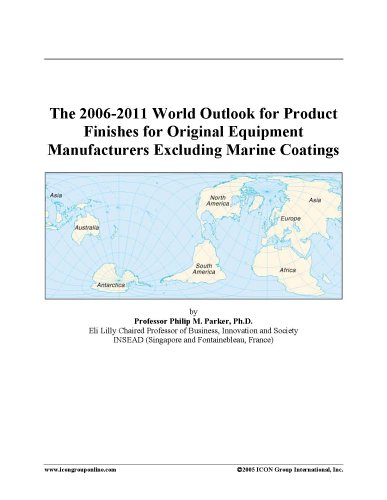 The 2006-2011 World Outlook for Product Finishes for Original Equipment Manufacturers Excluding Marine Coatings