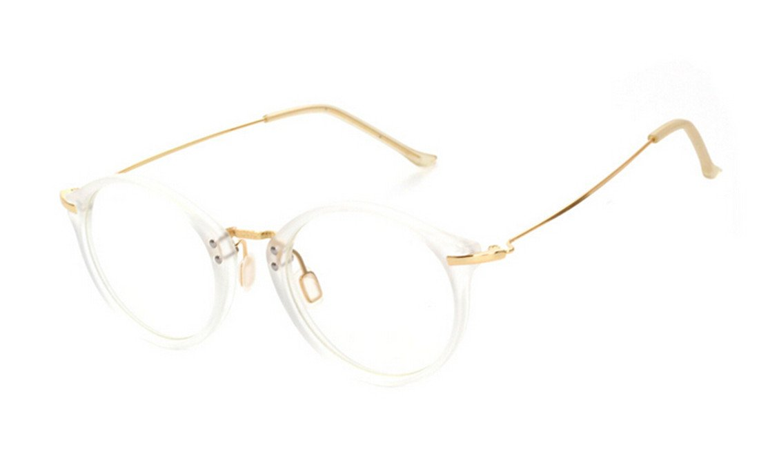 Galleon - GAMT Fashion Oversized Clear Lens Round Circle ...