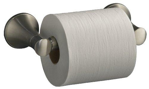 Kohler K-13434-BN Coralais Toilet Tissue Holder (Vibrant Brushed Nickel)