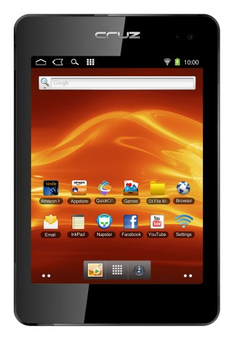 Velocity Micro Cruz Tablet T408 - 8-Inch Android Tablet with Flash