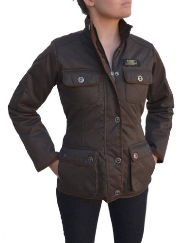 Baviera Women'S Quilted Lightweight Jacket, Large