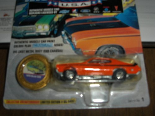 Johnny Lightning 1970 Buick GSX Muscle Car - 1