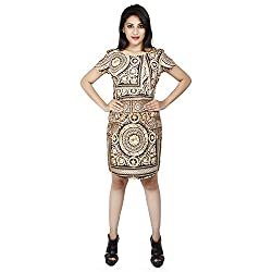 LALANA Multicolor Ethnic Print Cotton Dress