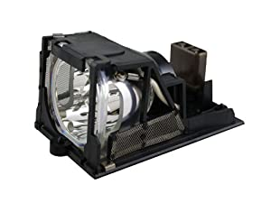 Replacement for Epson Elphc200 Bare Lamp Only Projector Tv Lamp Bulb by Technical Precision