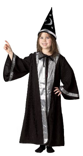 Get Real Gear Jr. Wizard with Cone Hat, Size OSFM,  ages 4-9
