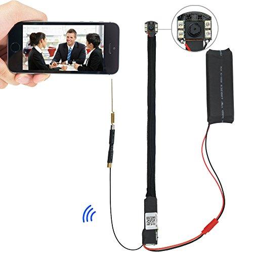 Toughsty™WIFIネットワーク隠しカメラ 暗視機能付き  LAN WAN可 8GBSDカード付き 動体検知