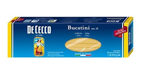 De Cecco Pasta, Bucatini, 16 Ounce (Pack of 5) (Round Pasta Noodles compare prices)