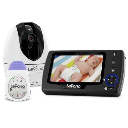 Levana Oviatm Digital Baby Video Monitor With Levana Powered By Snuza® Oma+Tm Portable Baby Movement Monitor System