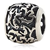 Everbling Lizzard Authentic 925 Sterling Silver Bead Fits Pandora Chamilia Biagi Troll Charms Europen Style Bracelets
