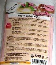 Pasta de azúcar glas - Blanco - 500 g - 5214
