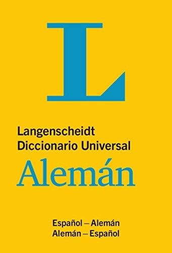 Langenscheidt Diccionario Universal Aleman : Espanol - Aleman / Aleman - Espanol [Langenscheidt] (Tapa Blanda)