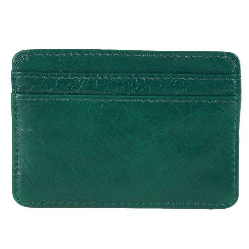 Tory BurchTory Burch Dena Leather Slim Credit Card Case Malachite