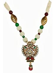Vaishali Antique Gold Plated Necklace Set For Women SL6466