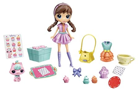 Littlest PetShop - A2195E240 - Poupée - Blythe and Pet Delivery