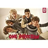 One Direction-Group Poster Poster Print, 36x24