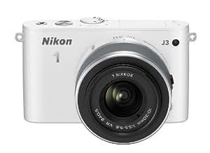 Nikon 1 J3 Kit Compact numérique hybride 14,2 Mpix + Optique 10-30 mm Blanc