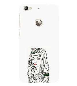 EPICCASE Dreamy girl Mobile Back Case Cover For LeEco Le 1s Eco (Designer Case)