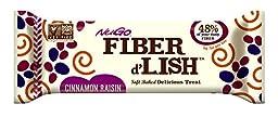 NuGO Fiber d\'Lish Cinnamon Raisin Nutrition Bar, 16 Count