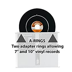 Set of A-rings for the Audio Desk Systeme Vinyl Record Album LP Cleaning Machine
