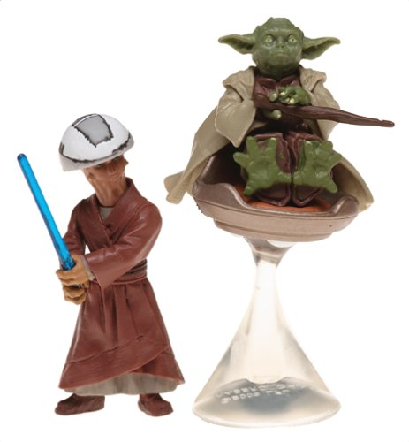 Star Wars 85029 Yoda and Chian Jedi Temple Training Action Figure - Attack Of The Clones