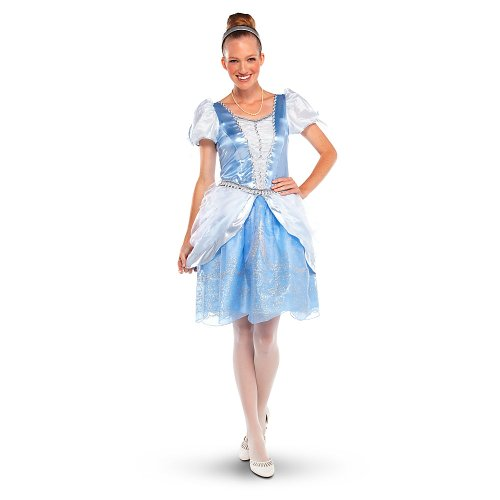 Disney Store Princess Cinderella Costume For Adult Women Size Small 4-6