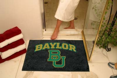 NCAA Baylor Bears Chromo Jet Printed Rectangular Area Rug Floor Mat 45