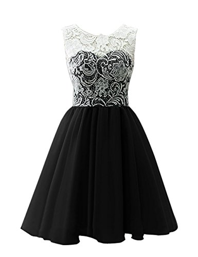 Adult Ball Gown Lace Short Prom Dress