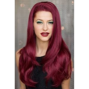 dark cherry red hair