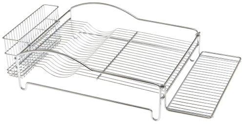 Amco 8449 Ultra Dish Rack Set, Chrome Plated