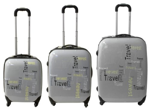 Super schöner 3 teiliger Designer Travel Kofferset