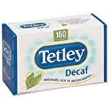 Tetley Tea Bags Decaffeinated High Quality Ref A06070 [Pack 160]