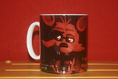 "Tazza ""Five Nights at Freddy's"", motivo: volpe"