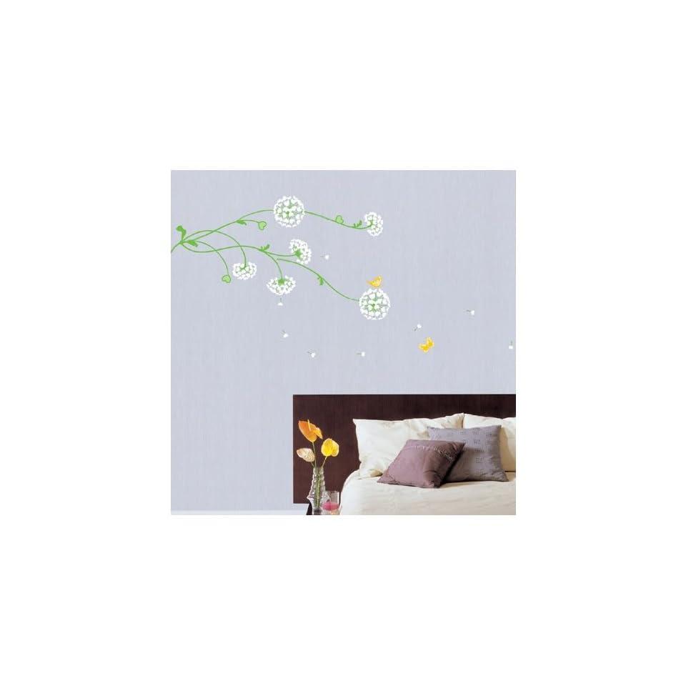 Jiniy WIND FLOWER WALL ART DECOR Mural Decal STICKER(KR0026)