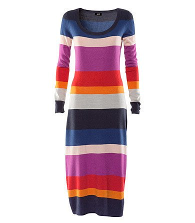 Knit Sweater Dress Fall/Winter Collection Size L