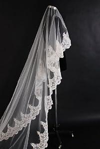 Loveshop Top-level 3 Meter Long Single-layer Wedding Veil - Lesbian Wedding Veil