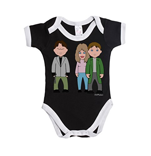 Vipwees Cyborg Assassin 1 Baby Grow Vest Retro Clothes Movie Gift