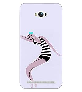PrintDhaba Cartoon D-3270 Back Case Cover for ASUS ZENFONE MAX ZC550KL (2016) (Multi-Coloured)