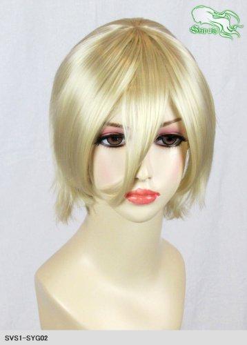 スキップウィッグ 魅せる シャープ 小顔に特化したコスプレアレンジウィッグ マニッシュショート バニラ
