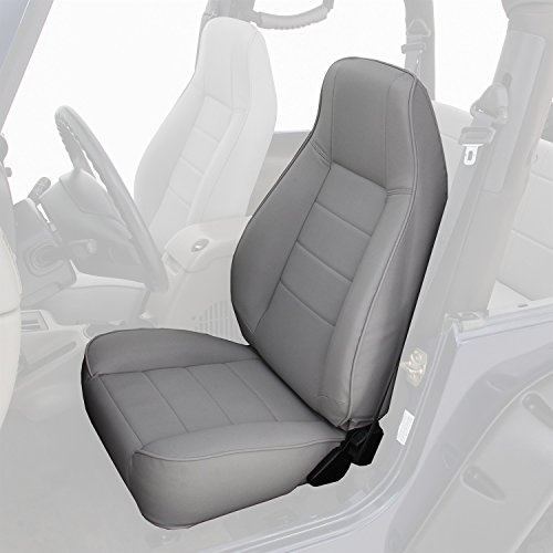 Smittybilt 44901 Black Standard Bucket Front Seat (Jeep Wrangler Seats compare prices)