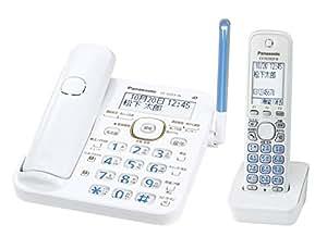 パナソニック デジタルコードレス電話機  子機1台付き 1.9GHz DECT準拠方式 ホワイト VE-GD53DL-W
