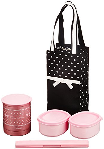 Thermos Bento lunch box (Slim and easy to put into a bag) (Zojirushi Thermos Bento compare prices)