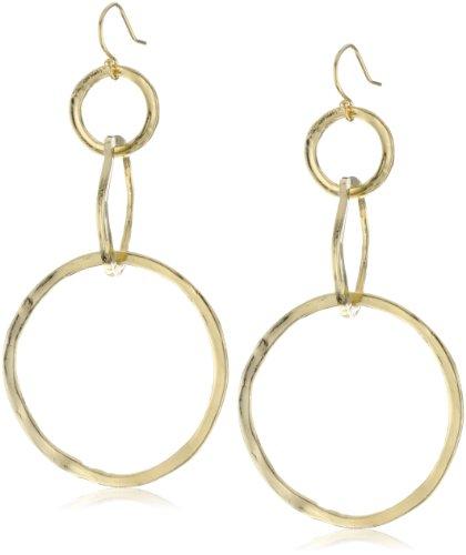 Lisa Stewart Triple Interlocking Hoop Earrings
