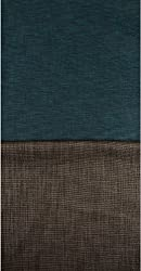 Grasim Men's Cotton Shirt and Trousers Fabrics (20, Blue and Brown)