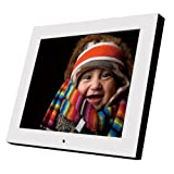 【Amazonの商品情報へ】【17型大画面デジタルフォトフレーム】ホワイトクリアパネル【電子POP】 - DI170ST16A