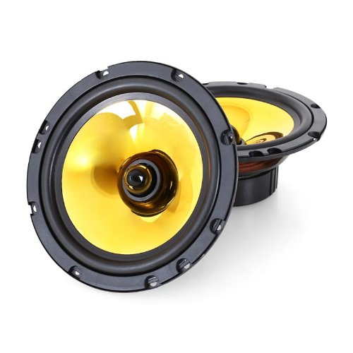 Auna-Goldblaster-Paar-165cm-65-Zoll-Auto-Lautsprecher-Boxen-Set-1200-Watt-goldene-Membrane-100Hz-bis-20kHz-89dB