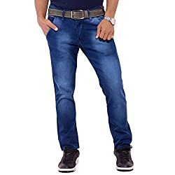 URBAN FAITH Plain Jeans for men's