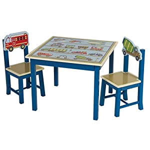 Guidecraft Moving All Around Table and Chairs Set