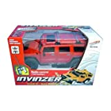 XStunt Invinzer Crash 'n Rebuild Radio Controlled 1/12 Scale Hummer Truck - Redby XStunt