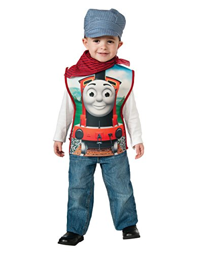 Child's Boys Thomas The Tank Engine Engineer Conductor James Costume